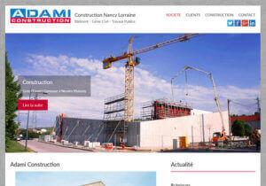 Site web :: Entreprise du Bâtiment